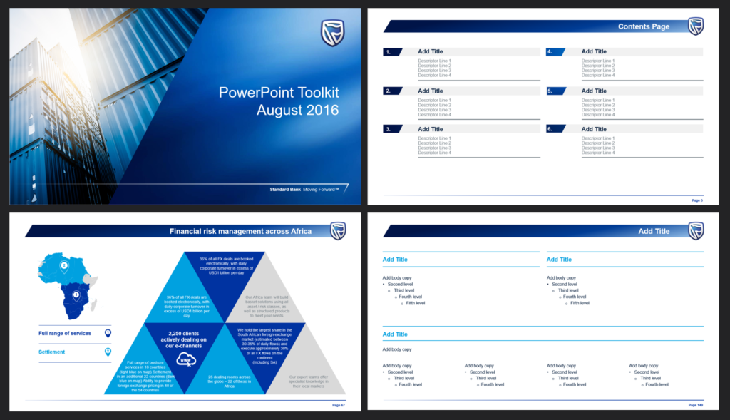 PowerPoint template design specialist