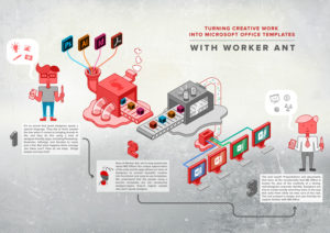 Worker ant l ms powerpoint and word template design and development artwork conversion to microsoft office templates maxwellsz